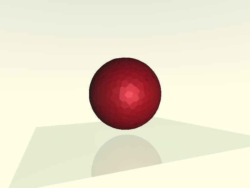 sphere animation